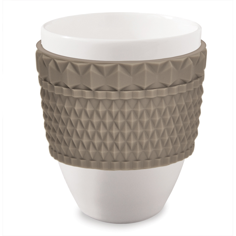 Baci milano tazza mug chic greige tortora brighter home for Casalinghi milano outlet