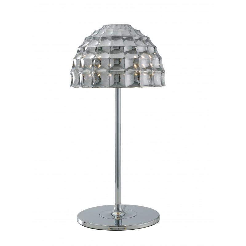 I-CALLAS-L2 - Lampada da tavolo cromata moderna 42 watt G9