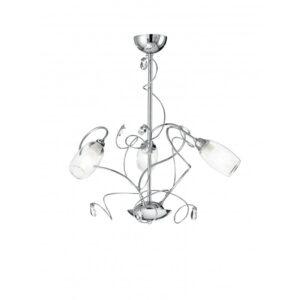 I-ELY/3 - Lampadario a sospensione classico cromato 40 watt E14