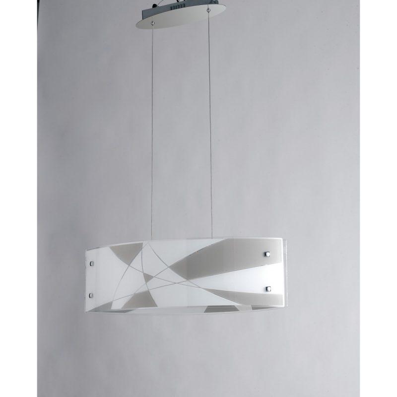 I-Maxima/S65 - Lampadario A Sospensione Moderno A Luce Led 40 Watt