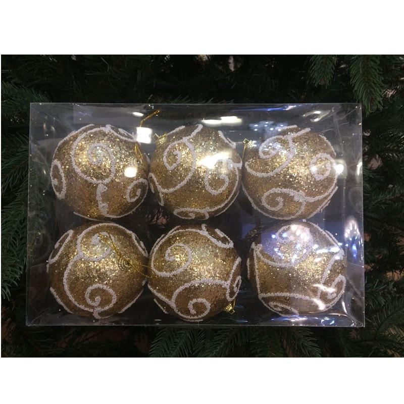 palline natalizie dorate nataluna