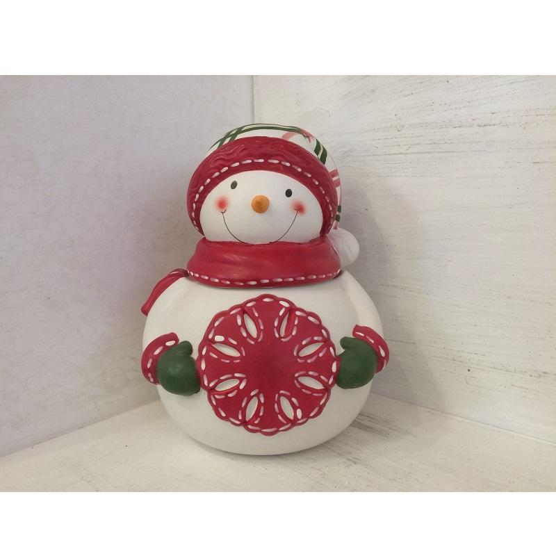 Biscottiera pupazzo di neve