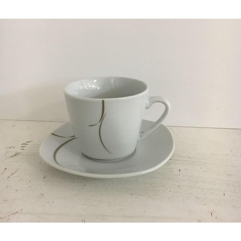 Servizio tazze da caffè Japan Quadro tortora