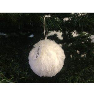 Decorazione albero di Natale ponpon bizzotto