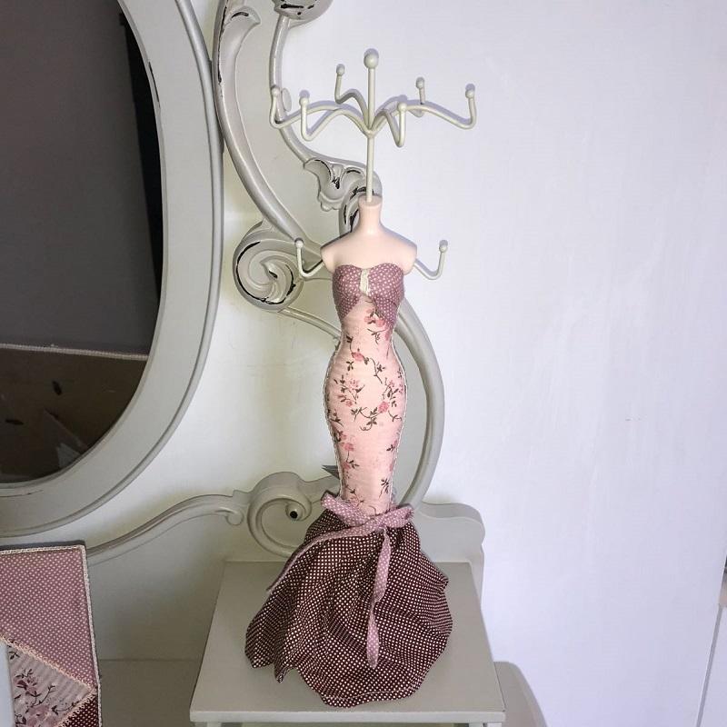 Porta Gioielli Rosa 6P Bizzotto