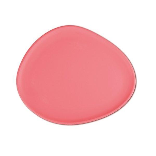 Baci Milano - 6 piatti dessert frutta rosa/corallo ''Chic&Zen''