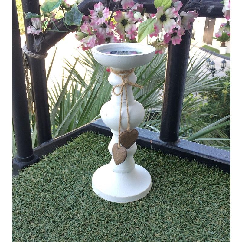 Candeliere da tavolo con cuori