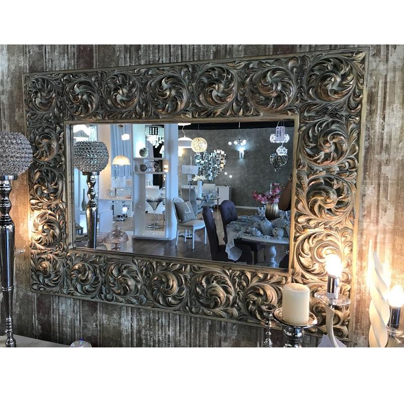 Specchio effetto Oro Anticato