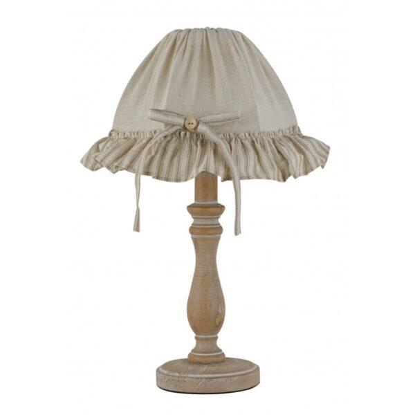 I-CHERRY-LUME - Lampada da camera in legno beige 40 watt E14