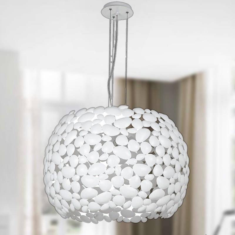 I-DIONISO-S65-BCO Lampada Lampadari MODERNI Bianco