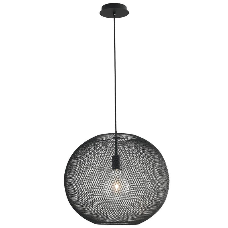 I-ESEDRA-S50 NER Lampada Lampadari MODERNI Nero