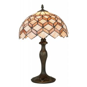 I-LIBERTY-LG1 - Lampada da tavolo con decorazioni astratte 60 watt E27