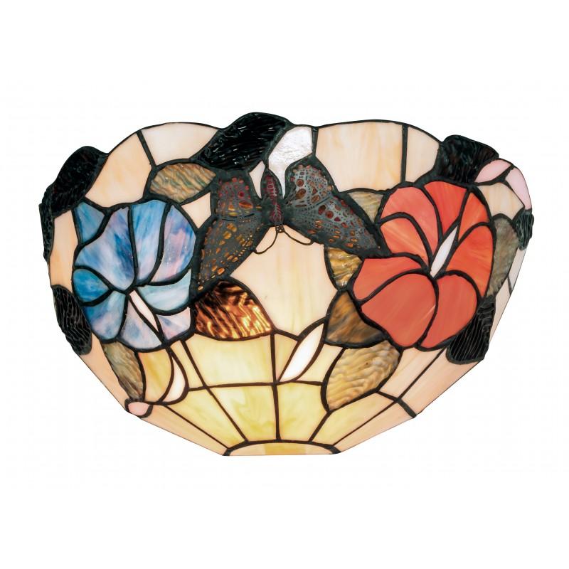 I-NINFA-AP - Applique dai colori vivaci e decorazioni primaverili 60 watt E27