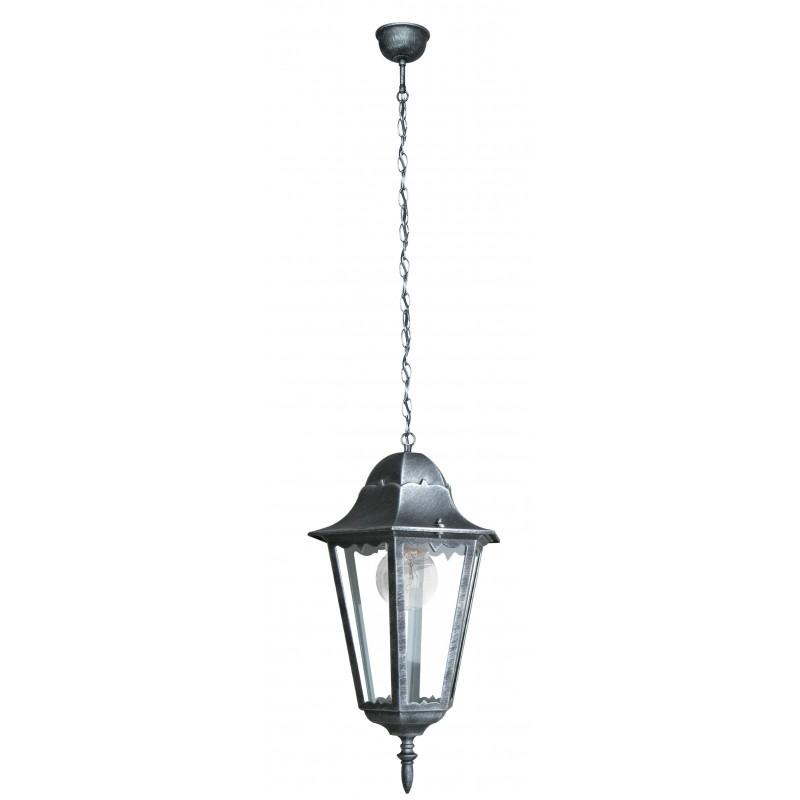 LANT-FIRENZE/S1 - Lanterna sospesa da esterno argento FIRENZE