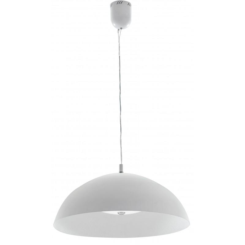 LED-DOLOMITE-S65 - lampadario bianco led rigato 40 watt 4000 kelvin