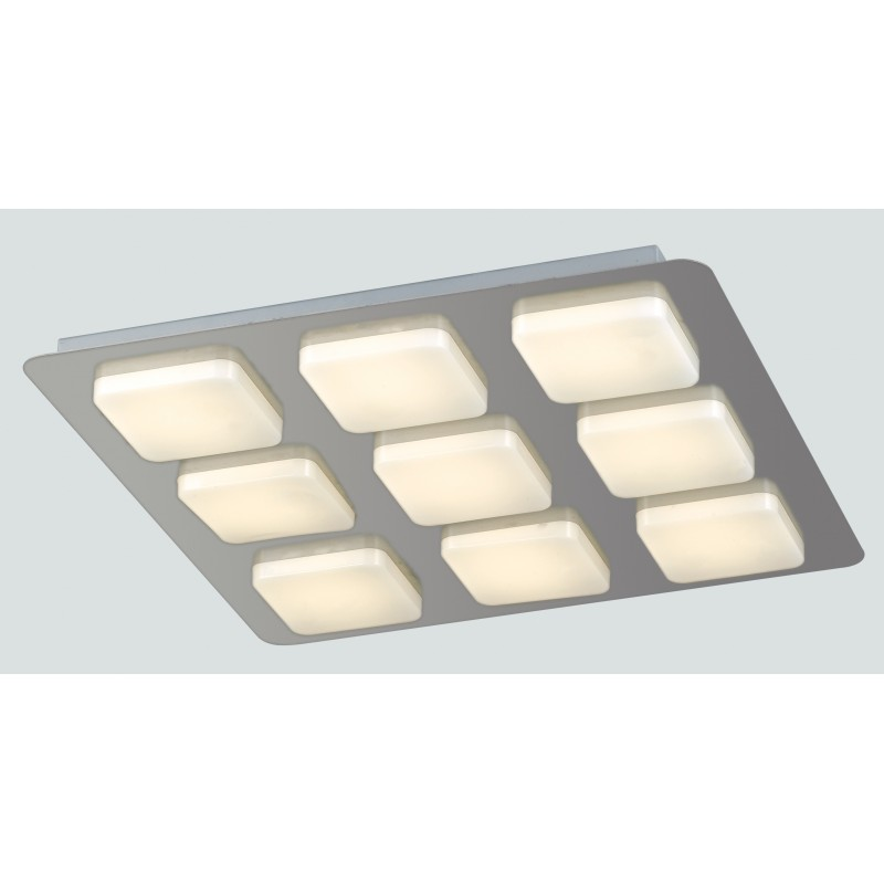 LED-MADISON-Q9 Plafoniera Madison con 9 luci led cubiche