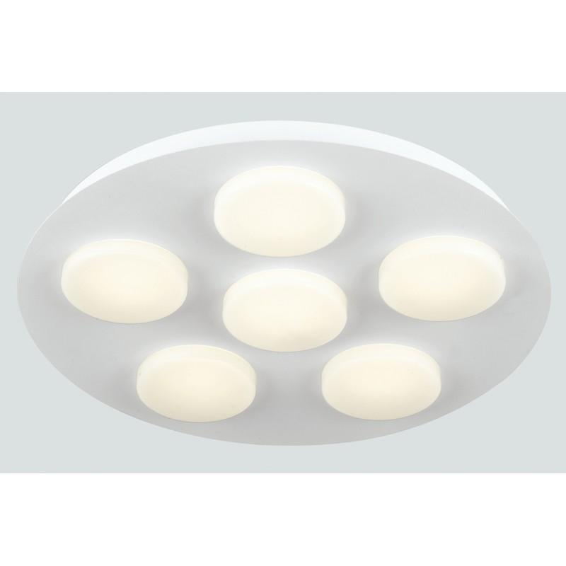 LED-MADISON-R6 Plafoniera circolare con 5 luci led