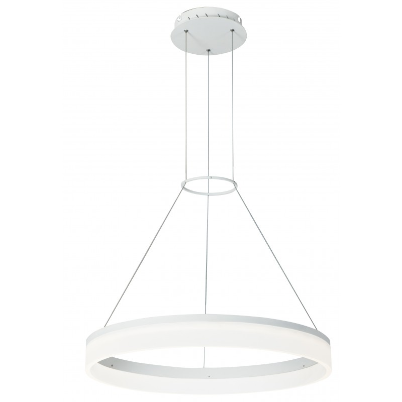LED-SATURN-S80 Sospensione Led Bianco