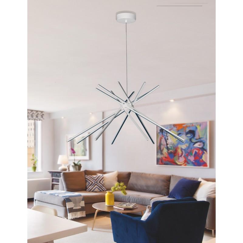 LED-SHANGHAI-S8 BCO Lampada Lampadari MODERNI Bianco Led