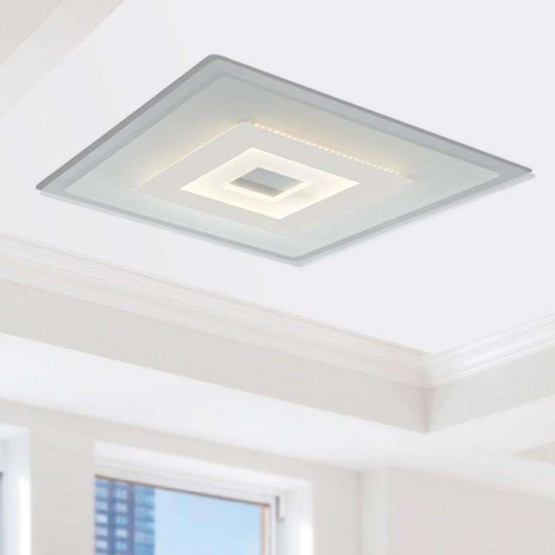 LED-TRESOR-PL50 Plafoniera Led Bianco