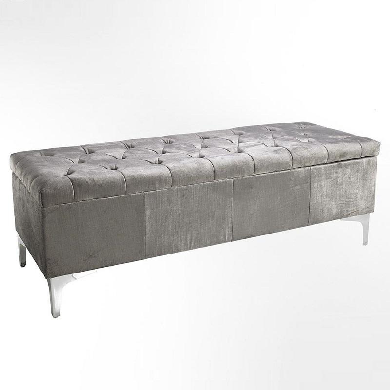 Panca da letto grigio belda brighter home for Panca letto
