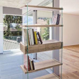 Libreria 4P-2C Kenya 90x39x180cm