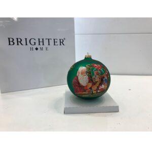 Pallina di Natale Vetro Verde ⌀ 15cm