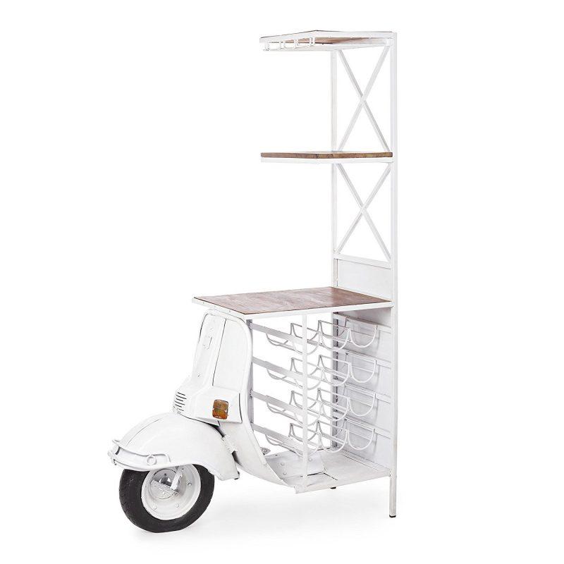 Mobile Bar Vespa Bianco