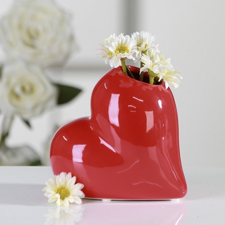 Vaso ''lovely'' Rosso - casablanca