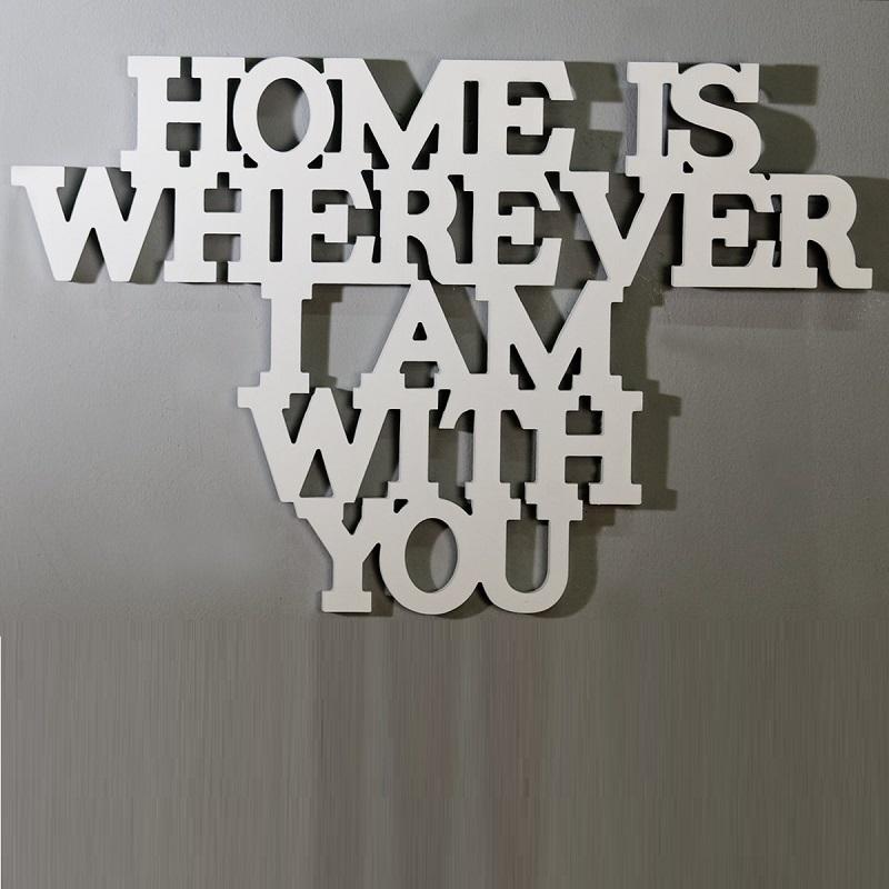 Scritta Home is.. Casablanca