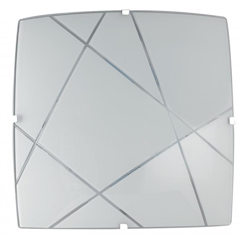 Plafoniera Alexia di colore Bianco a LED