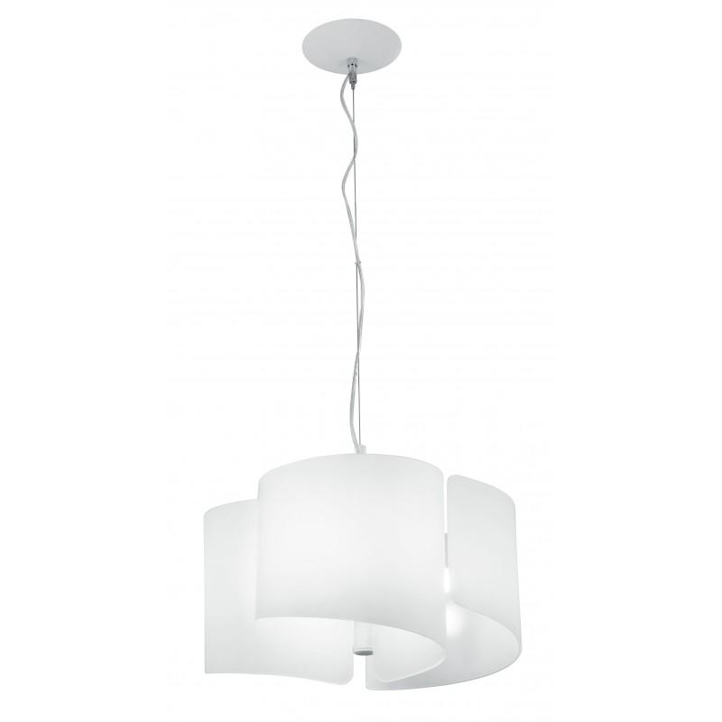 Lampadario camera da letto Imagine Lampadario Bianco 3 Luci