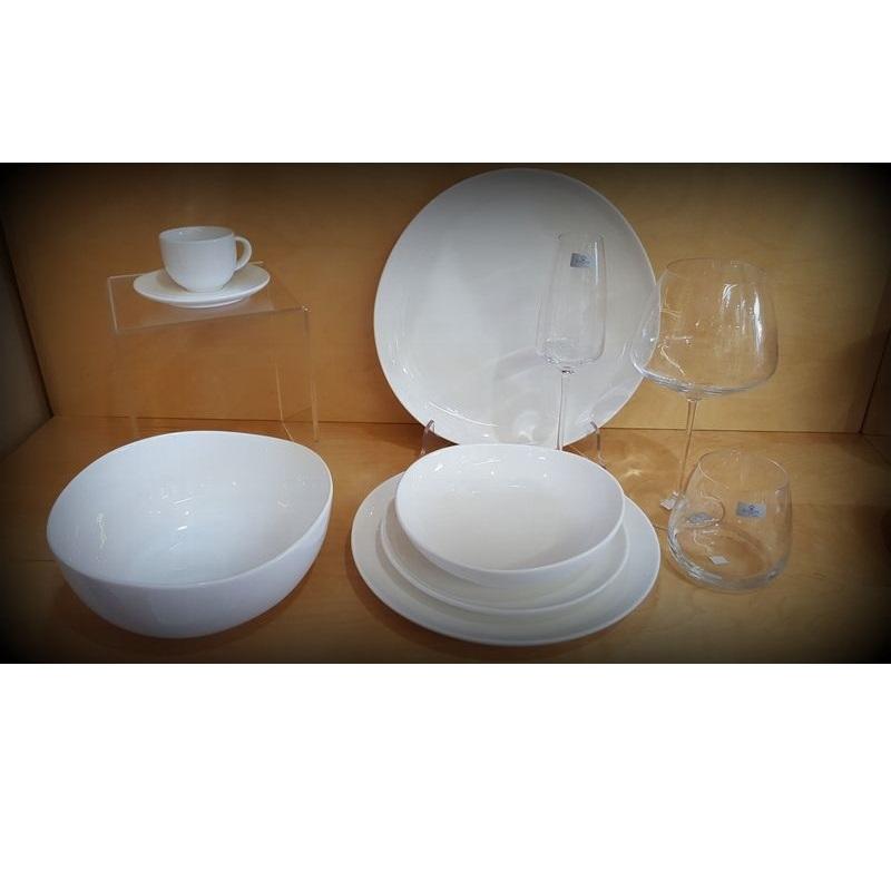 Italia Ceramiche Arzano Na.Servizio Piatti Da 12 Persone Ocean Wave Ceramica Scherzer