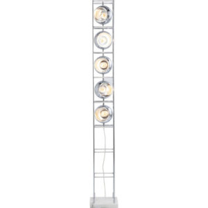 Piantana Torre Cromo 22x22xH165cm