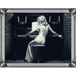 Quadro Donna al Piano