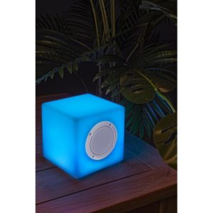Lampada Led Cubo Bluetooth 15x15cm
