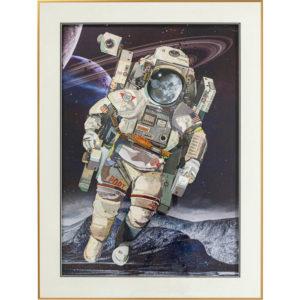 Quadro Astronauta 100x75cm