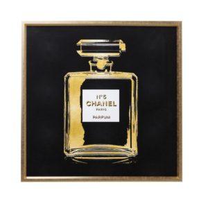 Quadro Fragranza 115x115cm Oro