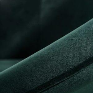 Sedia Candela in velluto Verde