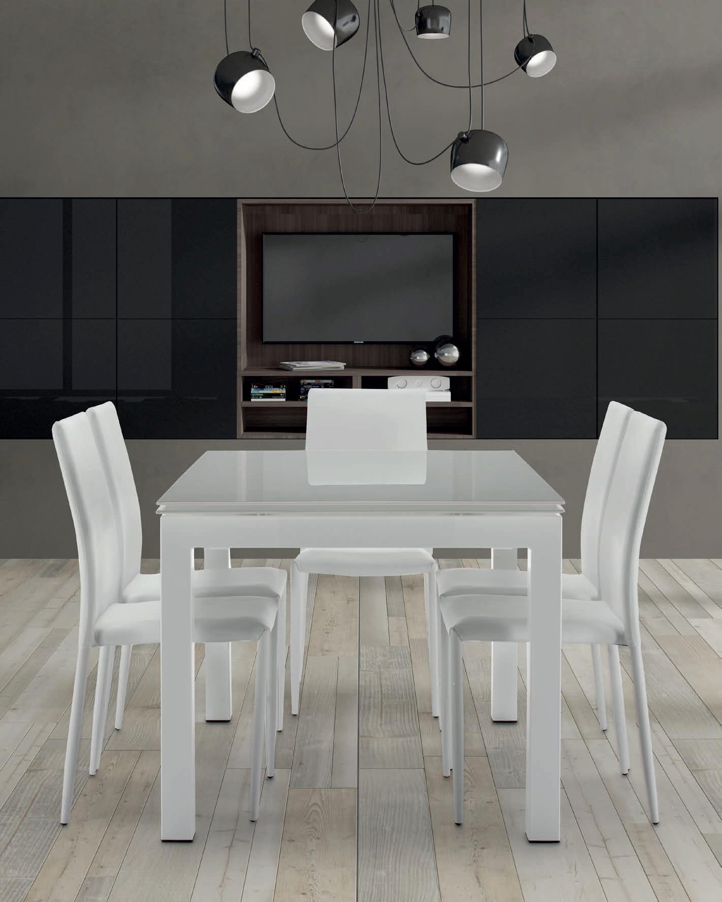 Tavolo Allungabile In Vetro As Brighter Home